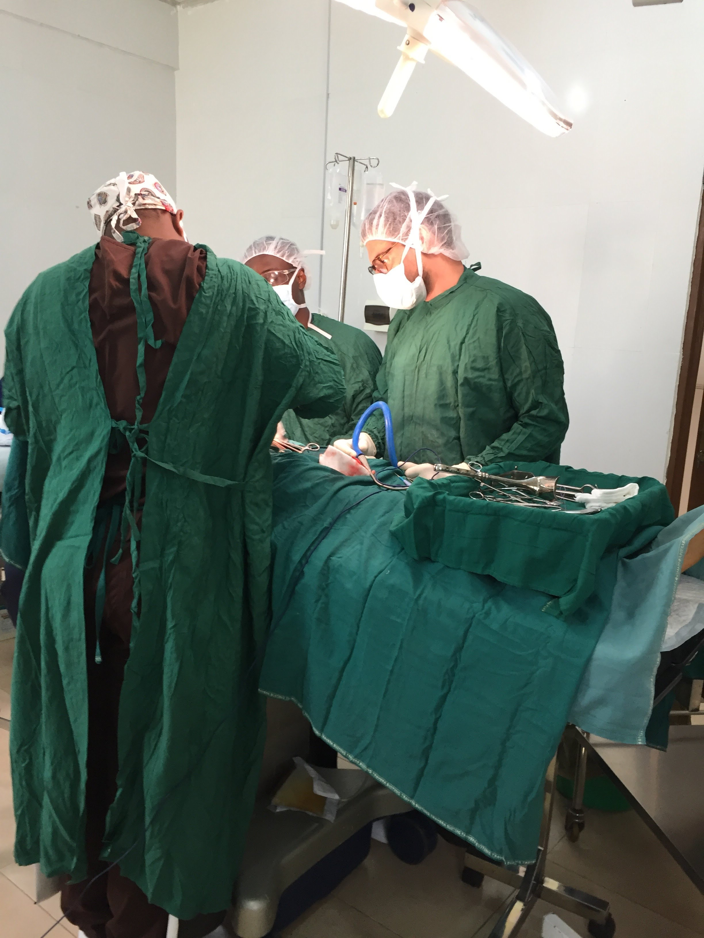 Patrick in Surgical Theater 2017