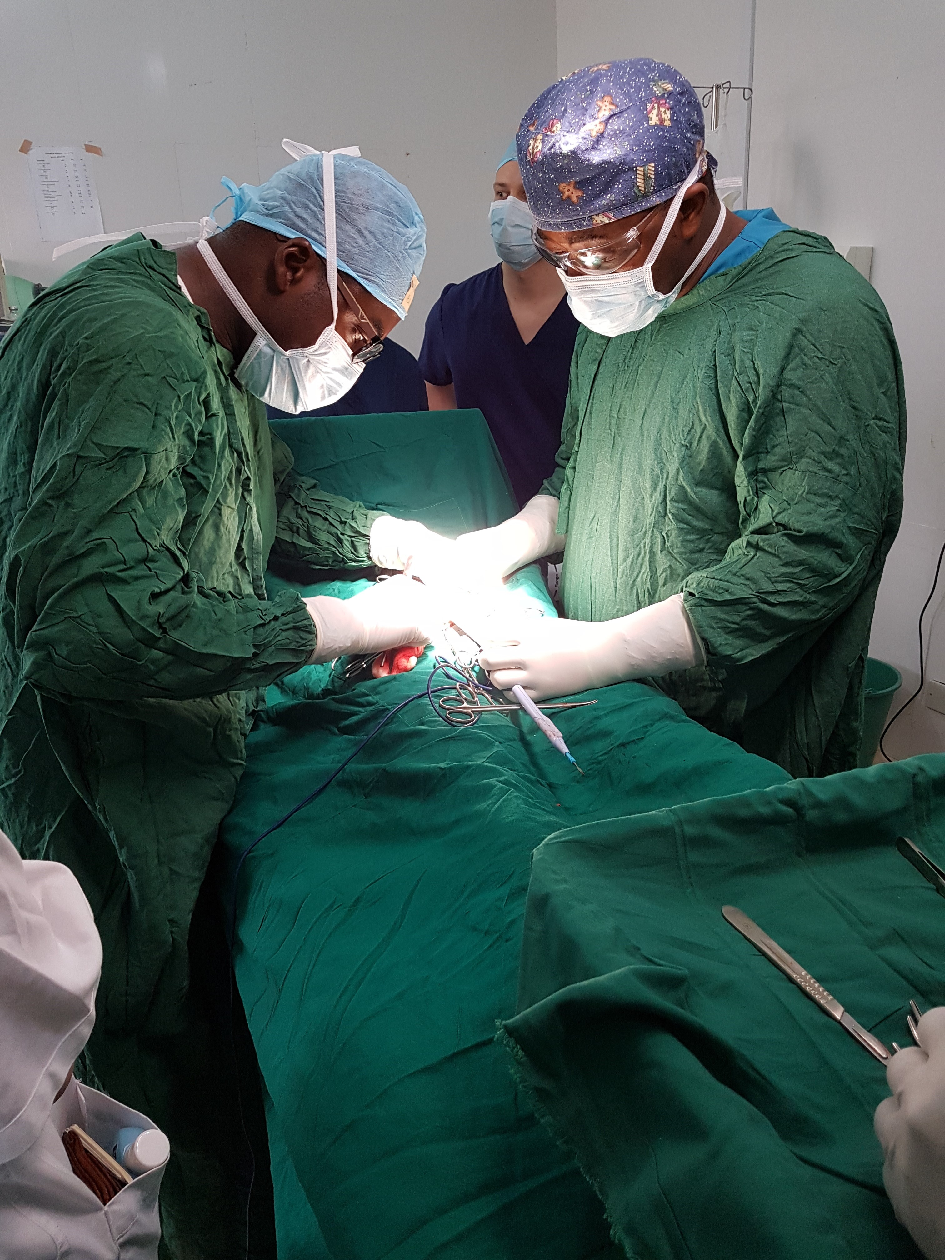 Surgery with Dr Brown Dr Kasole